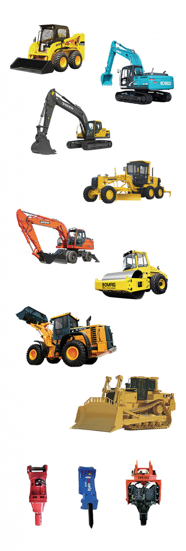 Earth Moving Rental Solutions | T1 Rentals